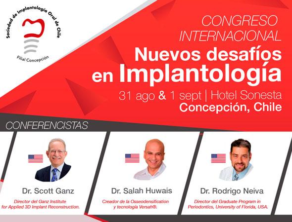 Congreso Internacional Nuevos desafíos en Implantología